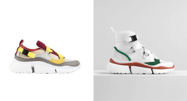 ▲CELINE、Chloe球鞋。(图/品牌提供)