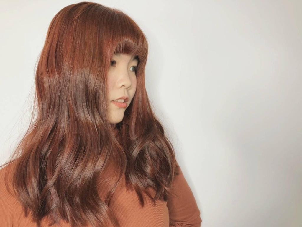 ▲StyleMap暖度破表「番茄橘紅色」染髮自帶好氣色!(圖/StyleMap提供)
