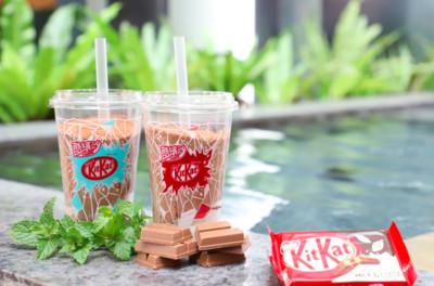 量80萬杯「KitKat巧克力酷繽沙」來了