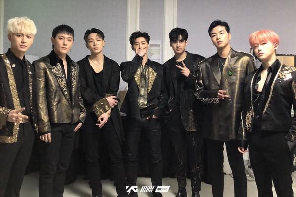 ▲▼iKON(上)和WINNER(下)受到YG娛樂負面形象影響。(圖/翻攝自iKON推特)