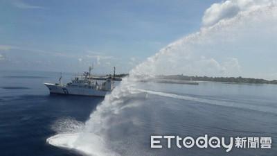 海署南援演習 C130載救護車後送傷患