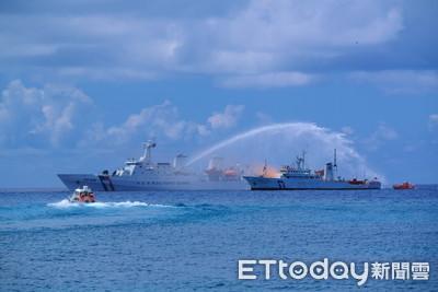 直擊/太平島南援操演 無人機首次加入救援