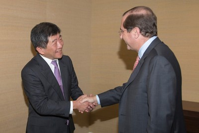 美衛生部長會談陳時中:可學台灣制度