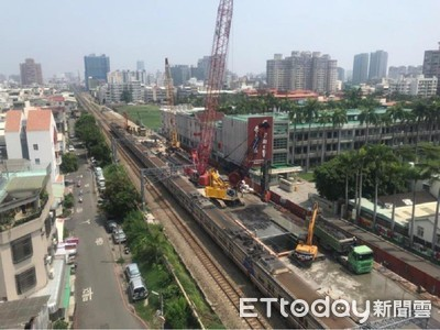 鐵路地下化用地點交有展 工程已展開