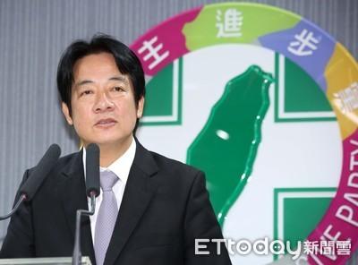 賴清德:只要蔡英文民調贏韓國瑜 我無條件支持她