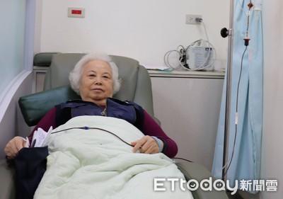輸血改善暈喘 她3年後竟成鐵人