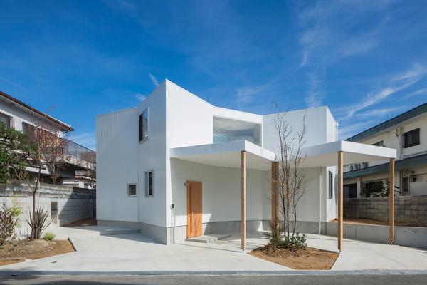 日本绝美「迷宫住宅」 菱形连结方形释放无限空间