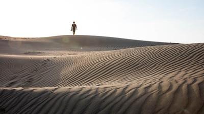 台灣也有沙漠?絕美祕境「草漯沙丘」 媲美日本鳥取沙丘