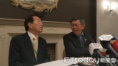 柯P屢質疑小英 謝長廷:不贊成批評蔡總統