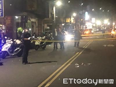 男遭攔路開槍 2腳中彈倒地遭送醫