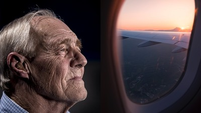 88歲爺獨自搭機找孫子 「忍不住漏尿了...」機上乘客忙幫擦零怨言