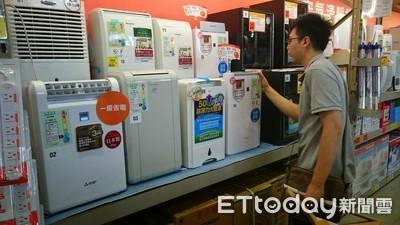 快訊/買冷氣、冰箱最多退稅2000元
