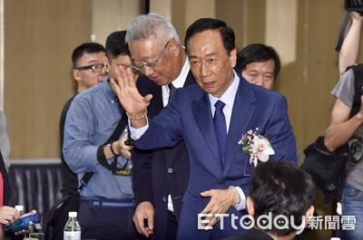 郭台銘選總統有點crazy、要一點勇氣