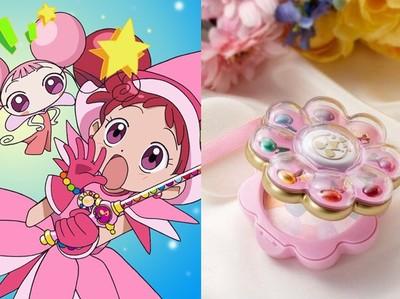 《小魔女DoReMi》推出變身器粉餅