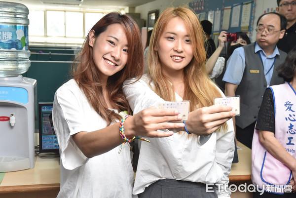 ▲�同婚登记结婚首日台北市同婚登记状况。(图/记者李毓康摄)