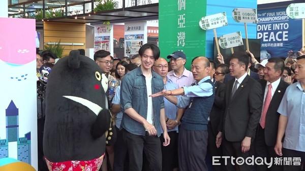 ▲�0524韩国瑜高雄旅展。(图/记者赖君欣摄)
