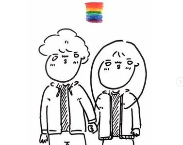 「同志情侶日常」閃閃又可愛