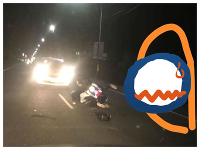車禍現場見「一雙白鞋」…網調亮嚇壞:好像七爺