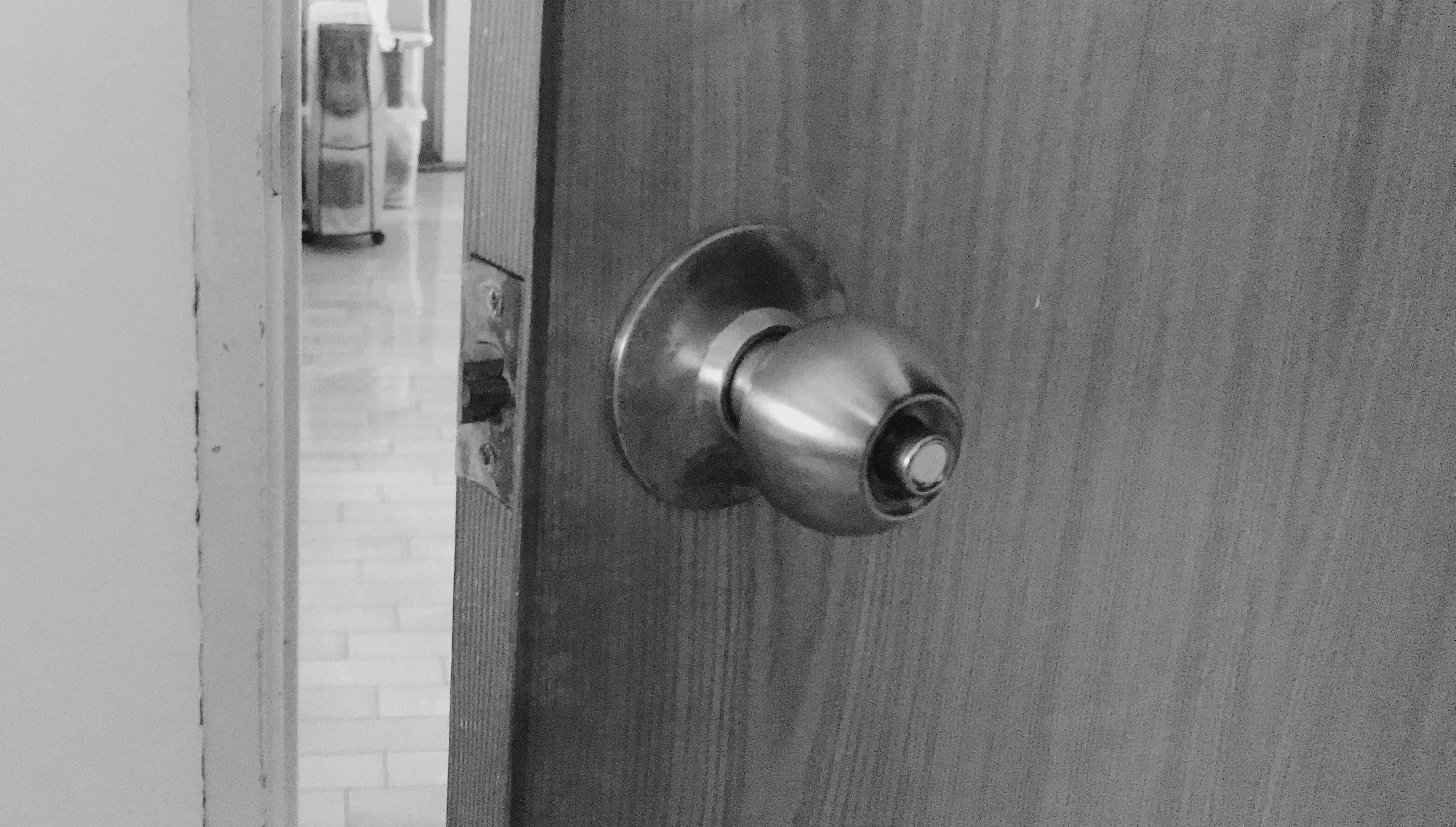 ▲▼門鎖,喇叭鎖,門。(圖/記者廖婕妤攝)