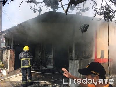 屏東縣內埔民宅火警 母女兩人死亡