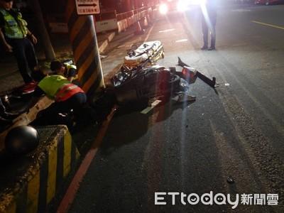 醉騎士遇三寶小客車 路口撞上他昏迷女友斷腿