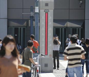 北海道飆39.5度高溫 打破日本歷史紀錄
