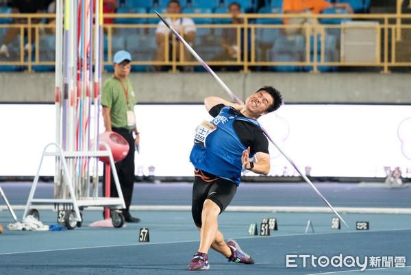 黃士峰東奧測試賽標槍最後擲77M35 排名衝第三積分有望進補