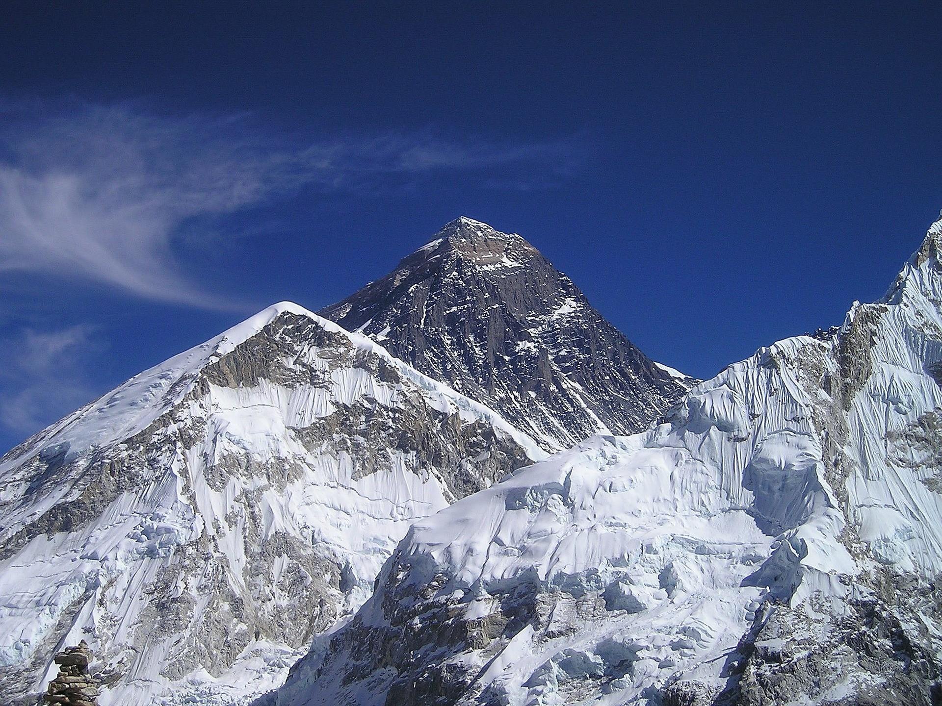 ▲聖母峰,登山。(圖/取自免費圖庫Pixabay)