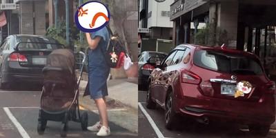 媽推嬰兒車佔位!他怒:不丟臉嗎