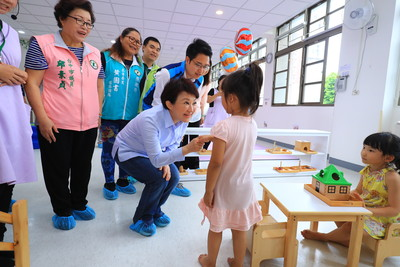 果然是媽媽市長 盧秀燕:4年內增設14所公托