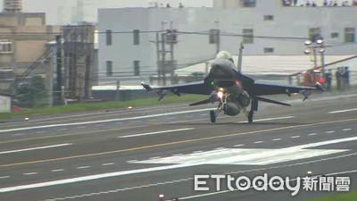 蔡英文上任首次戰備道操演 改良F16V首秀