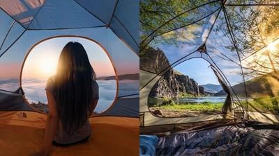 露營新潮流?住「透明帳篷」霸佔美景 唯一缺點...會被路人看光