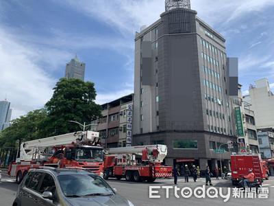 即/萬安演習剛結束 飯店「發爐」竄火