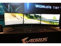 瞄準玩家市場  技嘉再推三款AORUS電競螢幕
