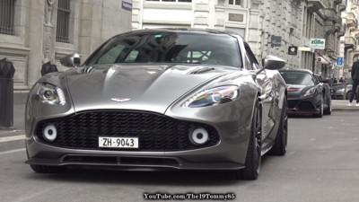 Aston Martin限量獵跑英國現身