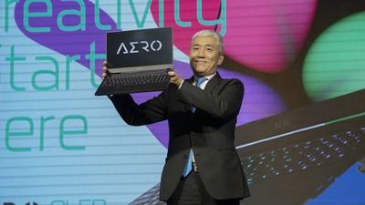 技嘉於Computex推New AERO筆電