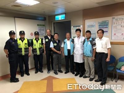 枋寮工廠氣爆移工住院 東警偕同犯保即時關懷
