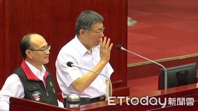 韓國瑜凱道誓師 柯P稱「陳抗」遭糾正