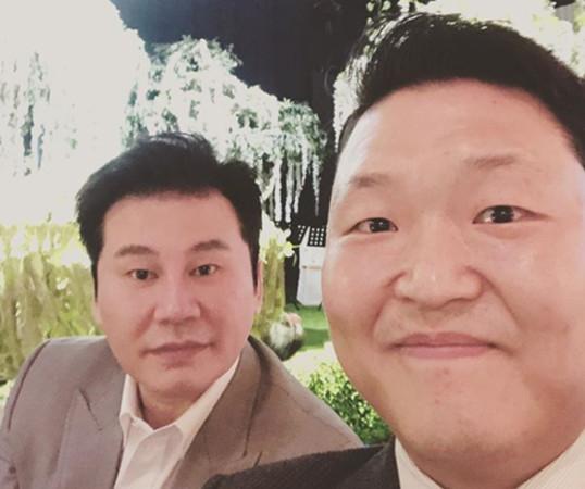 ▲▼PSY在聲明中,承認他就是YG社長梁鉉錫性招待醜聞報導中的「世界級韓星」。(圖/翻攝自IG)