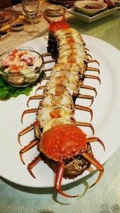 欸噁~你有吃過這樣的「蜈蚣蟹」嗎?