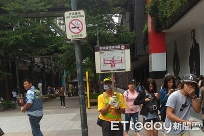 台北市超商、咖啡店騎樓9月禁菸