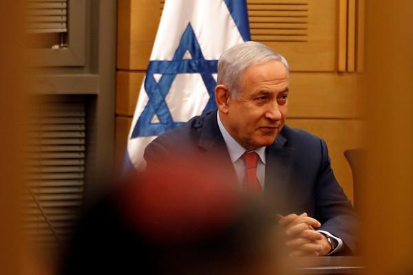 以色列總理納坦雅胡(Benjamin Netanyahu)。(圖/路透)