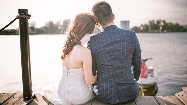 結婚,婚禮,情侶,婚紗(圖/取自免費圖庫pixabay)