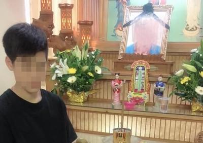 新竹單親爸猝死 14歲少年沒錢葬父