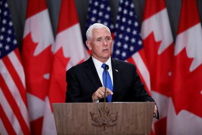 美副總統:願川習G20有貿易進展