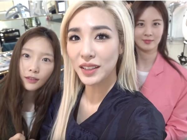 ▲▼蒂芬妮近日在個人YouTube更新了和少時成員們相聚的影片。(圖/翻攝自YouTube/Tiffany Young)