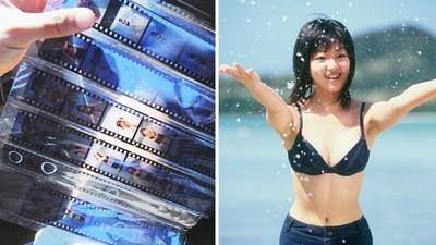 「秘藏20年」泳衣寫真曝光!旅日遊客只花5塊錢 洗出底片直呼:戀愛了
