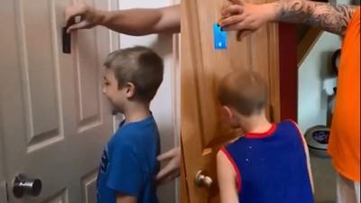 爆紅「搶錢挑戰」信用卡隨便刷! 看小孩拿頭撞牆...父母在暗爽