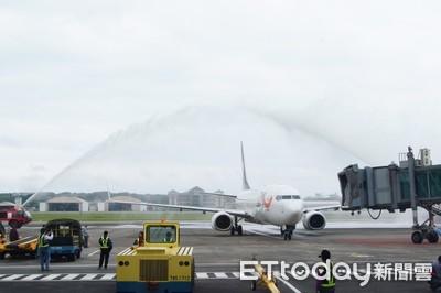 花蓮-山東 7月6日復航 每週六包機往返