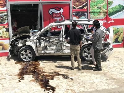 阿富汗美軍遇襲!炸彈客衝入自爆至少4人死亡